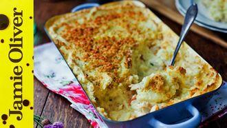 Creamy fish pie: Donal Skehan