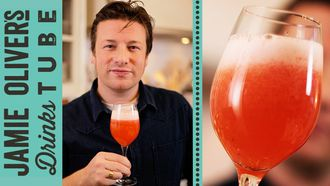 Rossini cocktail: Jamie Oliver
