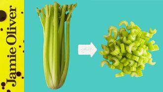 How to cut celery: Gennaro Contaldo