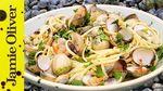 Fresh seafood linguine: Bart's Fish Tales