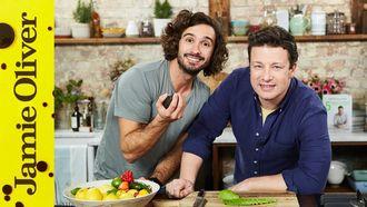 Jamie cooks his Mexican-style breakfast: Jamie Oliver & Joe Wicks