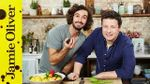 Jamie cooks his Mexican breakfast: Jamie Olive & Joe Wicks