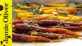 Perfect roast vegetables: Jamie Oliver