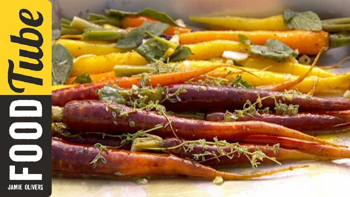Perfect roast vegetables: Jamie Oliver