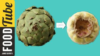 How to peel, cut & prepare an artichoke: French Guy Cooking