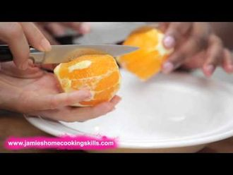How to prepare an orange: Jamie's Food Team
