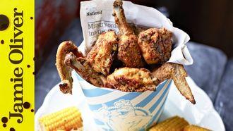 Jamie fried chicken: Jamie Oliver