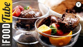 Jamie's amazing chocolate mousse: Jamie Oliver