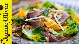 Tasty Thai beef & mango salad: Donal Skehan