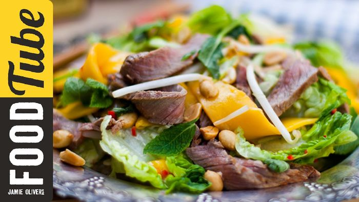 Tasty Thai Beef & Mango Salad