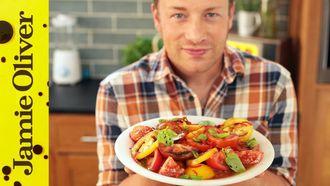 Jamie's ultimate tomato salad: Jamie Oliver