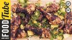 Jerk chicken with pineapple salsa: DJ BBQ & Bondi Harvest