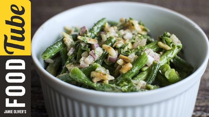 Green bean salad: Amber Kelley