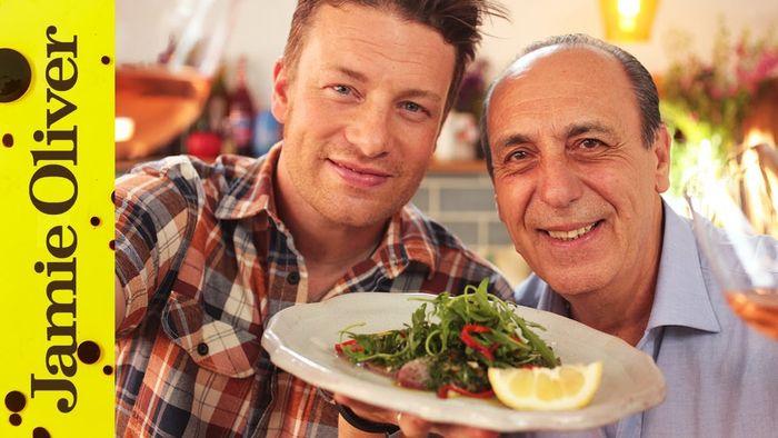 Tuna carpaccio: Jamie Oliver & Gennaro Contaldo
