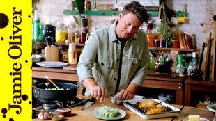 Filo chicken Kiev: Jamie Oliver
