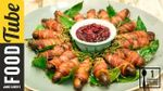 Pigs in blankets with cranberry sauce: Gizzi Erskine