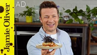 Aubergine parmigiana: Jamie Oliver