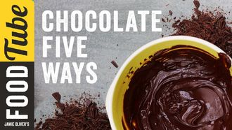 5 things to do with chocolate: Jamie Oliver
