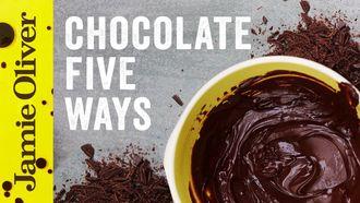 5 things to do with chocolate: Jamie's Food Team