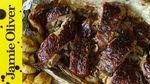 Honey glazed leg of lamb: Akis Petretzikis