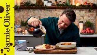 Christmas Apple crumble: Jamie Oliver