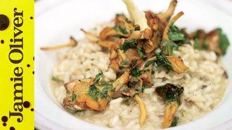 Perfect mushroom risotto: Jamie Oliver