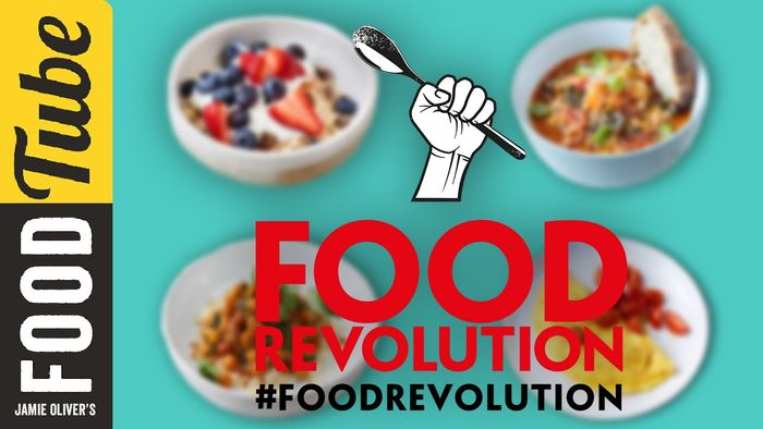 Jamie Oliver's 10 Food Revolution Recipes