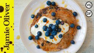 Vegan blueberry pancakes: Tim Shieff
