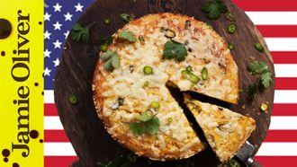 Chilli cheese cornbread: DJ BBQ