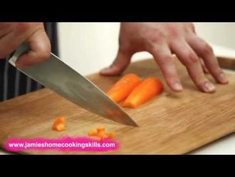 How to chop a carrot: Jamie's Food Team