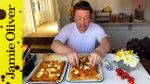 Homemade ratatouille pizza: Jamie Oliver