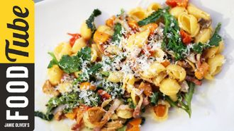Pancetta & pumpkin pasta: Gennaro Contaldo