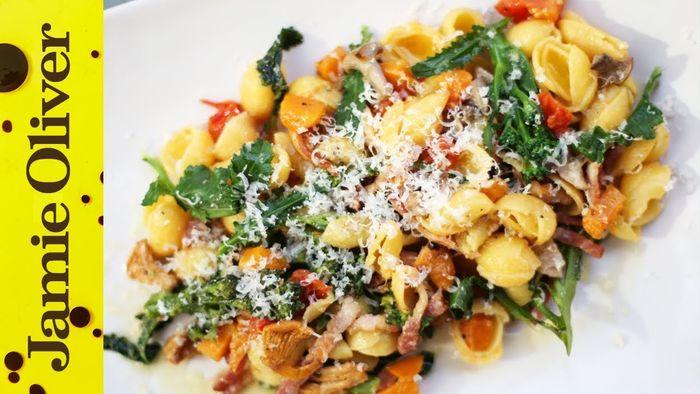 Gennaro's Pancetta & Pumpkin Pasta