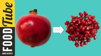 How to de-seed a pomegranate: Jamie Oliver