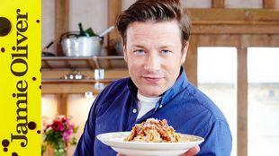 Veggie spaghetti bolognese: Jamie Oliver