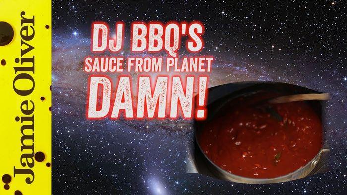 Homemade BBQ Sauce from Planet DAMN!