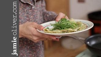 How to make a herb omelette: Jamie Oliver's Food Team