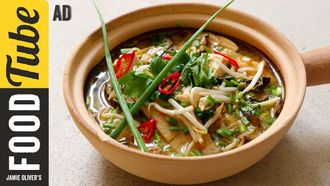 Hot & sour soup: French Guy Cooking