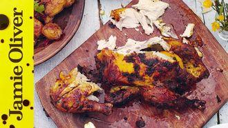 Spicy Indian roast chicken: Jamie Oliver