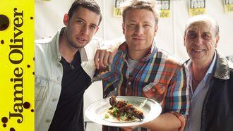 BBQ Pork Skewers: Jamie Oliver, Gennaro & Example