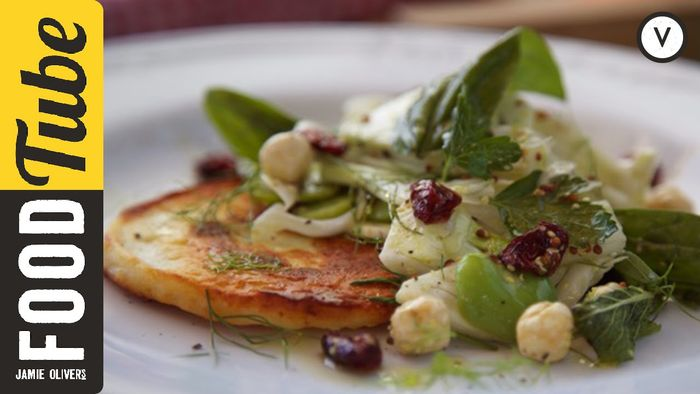 Aussie halloumi salad: Tobie Puttock