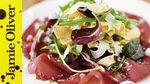 Omelette salad & bresaola: Jamie Oliver