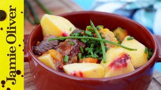 Slow cooked beef stew: Felicitas Pizarro