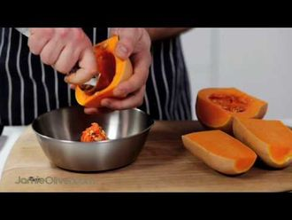 How to chop butternut squash: Pete Begg