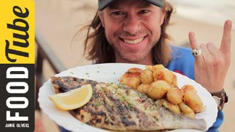 Portuguese beach bar bream: DJ BBQ