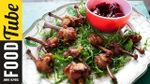 Chicken wing lollipops & homemade cranberry sauce: Aaron Craze