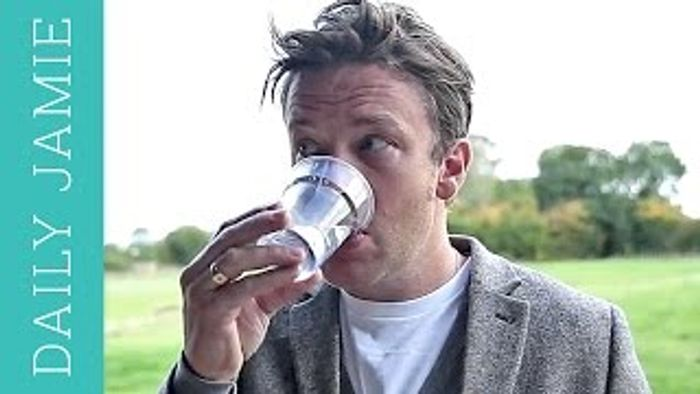 Let's talk about water: Jamie Oliver