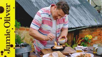 Sesame Roast Chicken: Jamie Oliver