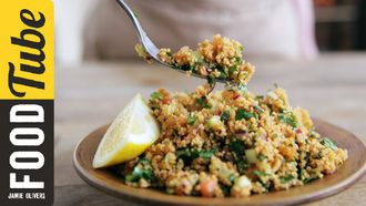 Tasty Turkish couscous: Kerryann Dunlop