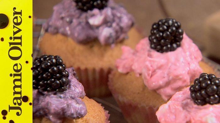 Zesty fairy cakes: Jamie Oliver